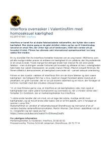 Interflora overrasker i Valentinsfilm med homoseksuel kærlighed