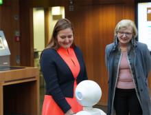 Neue Wissenschaftsministerin würdigt TH Wildau bei ihrem Antrittsbesuch als Innovationsmotor des Landes