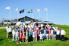 Toppresultat när välgörenhetsgolftävlingen Barngolfen samlade in 2,8 miljoner kronor till Drottning Silvias barn- och ungdomssjukhus
