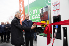 Biogas-tank til grøn transport indviet i Høje-Taastrup