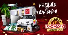 Traumhaus beim McDonald´s Monopoly gewinnen -  Essen, abziehen und jubeln!