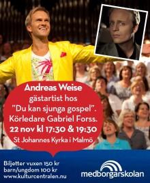 Du kan sjunga gospel  - Avslutningskonsert med Andreas Weise som gästartist