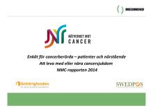 NMC-rapporten 2014: Enkät för cancerberörda – patienter och närstående. Att leva med eller nära cancersjukdom