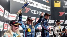 New podium spot for Jessica Bäckman