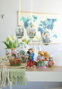 Hutschenreuther - Easter 2020 Porcelain egg and heart