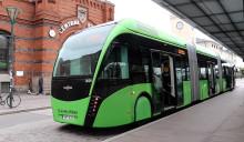Skånetrafiken räknar lediga platser ombord på Skånes bussar och tåg