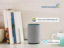 stellenanzeigen.de bietet sprachgesteuerte Jobsuche - Jobsuche via Amazon Alexa ab sofort möglich