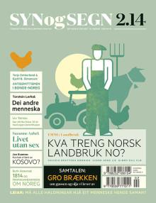 Jordbruk, oljeindustri, kropp og funksjonshemming er tema i ny utgåve av tidsskriftet Syn og Segn