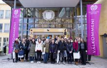Internationella studenter börjar på Högskolan i Skövde