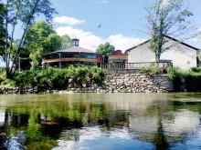Sättningsskador stänger Pelles Lusthus
