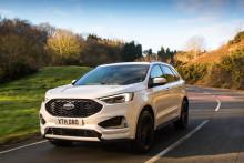Der neue Ford Edge: Sportliches Design, kraftvoller Biturbomotor und hochmoderne Assistenzsysteme