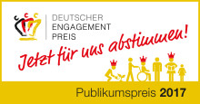 """Buchprojekt """"Was glaubst Du?"""" nun auch im Publikumsvoting für den Deutschen Engagementpreis."""