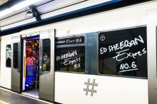 Alle ombord på Ed Sheeran T-banen i Oslo!