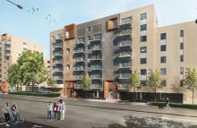 Wästbygg bygger 149 lägenheter åt Riksbyggen i Helsingborg