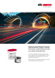 Informationsblad StoConcrete Protect Tunnel