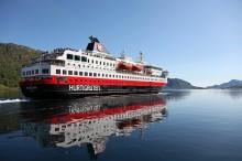 Slik blir Hurtigrutens midlertidige reserve-ruter