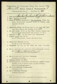 Folketeljinga 1891 ut til folket