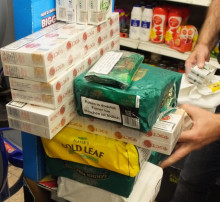 Tobacco and alcohol seized in Southampton