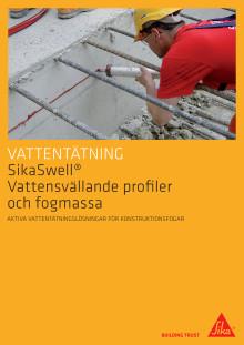 SikaSwell - Vattensvällande profiler och fogmassa