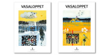 Artist Lisbeth Boholm painted the two Vasaloppet themes for 2016