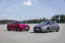 Mercedes-Benz introduserer A- og B-Klasse som ladbar hybrid