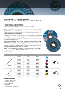 Produktblad Tyrolit PREMIUM Rondeller®