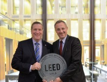 LEED Gold certificate for Forbo Flooring Systems warehouse in the Netherlands