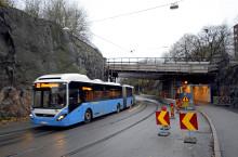 Trafikinformation: Chalmers får nya hållplatser