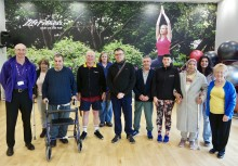 ​Rochdale stroke survivors get active with Stroke Association's new Moving Forward programme