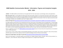 M2M Satellite Communication Market : Information, Figures and Analytical Insights 2016 - 2024