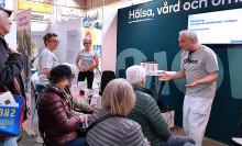 Hälsotema i Tiohundras monter på Expo Roslagen 3-4 maj