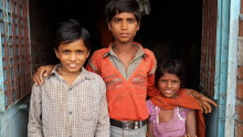 Världens barn om orsakerna till våld