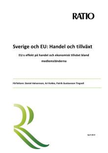EU stärker svensk handel och tillväxt