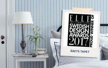 ​Boråstapeter vinner Elle Decoation Swedish Design Awards   - Sissa Sundling får priset Årets Tapet för kollektionen Lexington