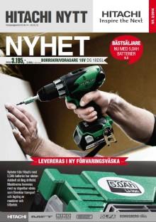 Hitachis kampanjtidning Hitachi Nytt Nr 2 2014 är nu ute i butik