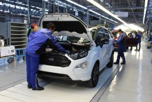 Ford börjar tillverka nya EcoSport i Europa