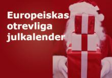 Europeiska lanserar världens mest otrevliga julkalender