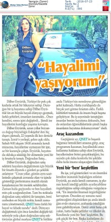 A STORY OF SUCCESS FROM İZMİR TO ENTIRE TURKEY...