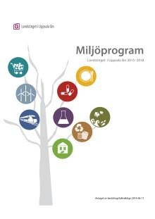 Miljöprogram Landstinget i Uppsala län 2015-2018
