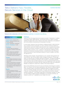 Case study cloud: Swisscom AG