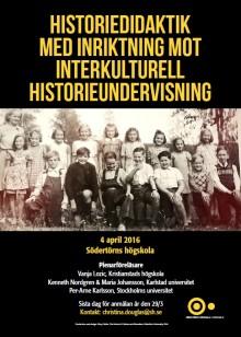 Symposium om Historiedidaktik med inriktning mot interkulturell historieundervisning