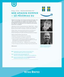 Inbjudan till Retail Talks om Amazon
