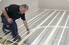 Instruktionsfilmer för golvvärmeinstallation