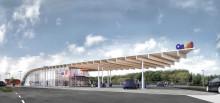 Nu indvies to nye servicestationer langs Silkeborgmotorvejen