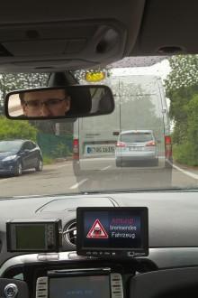 Ford starter realistisk testing av fremtidig bil-til-bil kommunikasjon.