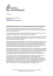 SLS anhållan om vetenskaplig granskning