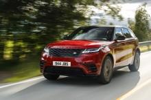 Range Rover Velar og Jaguar F-PACE fornyes