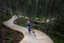 Årets roligaste sommarjobb – testa Trysils nya cykelstigar