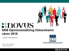 SKB Opinionsundersökning Oskarshamn 2018