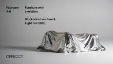 Stockholm Furniture & Light Fair, Feb 4-8 2020
